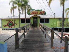 Gator Joe's; formerly the dance pavilion/bar at Johnson's