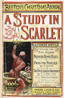 A Study in Scarlet from Beeton's Christmas Annual - 1887